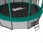 Батут UNIX Батут UNIX line 12 ft SUPREME (green) с сеткой фото 4